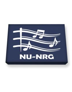 Nu Nrg - Musical Notes Canvas square