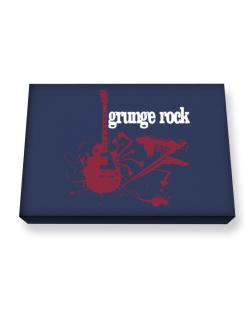 Grunge Rock - Feel The Music Canvas square