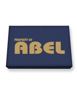 Property Of Abel Canvas square
