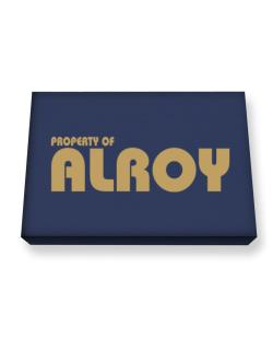 Property Of Alroy Canvas square