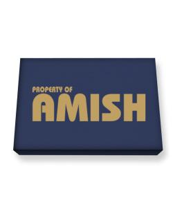 Property Of Amish Canvas square