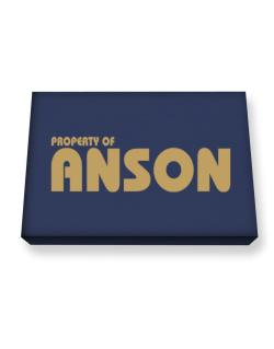 Property Of Anson Canvas square