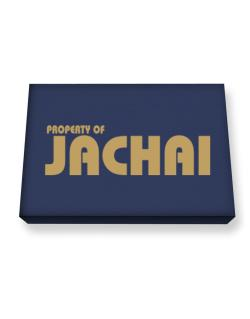 Property Of Jachai Canvas square