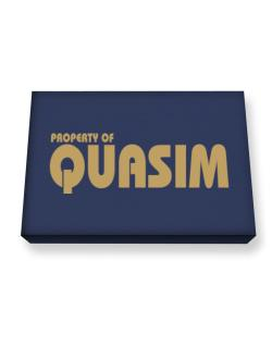 Property Of Quasim Canvas square