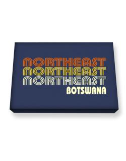Retro Color Northeast Canvas square
