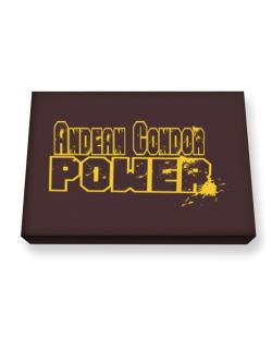 Andean Condor Power Canvas square