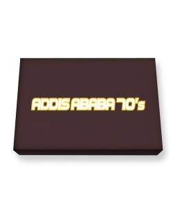 Capital 70 Retro Addis Ababa Canvas square