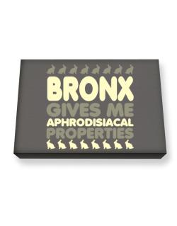 Bronx Gives Me Aphrodisiacal Properties Canvas square