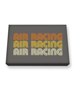 Air Racing Retro Color Canvas square
