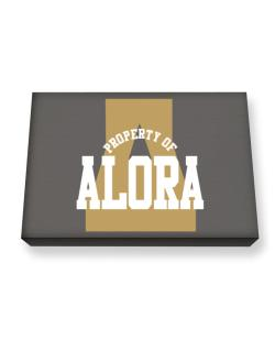 Property Of Alora Canvas square
