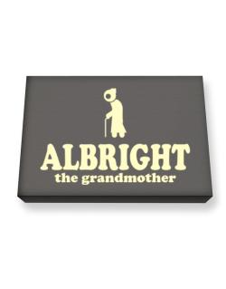 Albright The Grandmother Canvas square