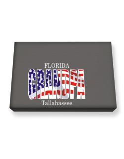 Grandpa Tallahassee - Us Flag Canvas square