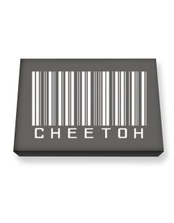 Cheetoh Barcode Canvas square