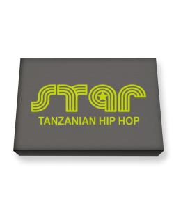 Star Tanzanian Hip Hop Canvas square