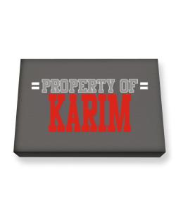 """ Property of Karim "" Canvas square"