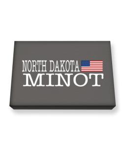 Minot State Canvas square