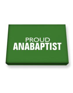 Proud Anabaptist Canvas square