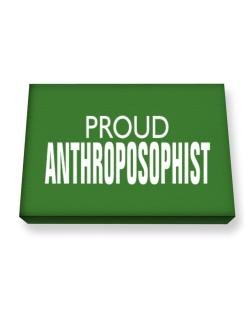 Proud Anthroposophist Canvas square