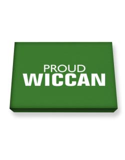 Proud Wiccan Canvas square