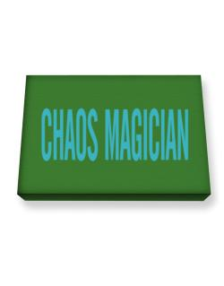 Chaos Magician - Simple Canvas square