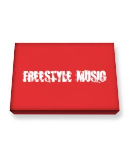 Freestyle Music - Simple Canvas square