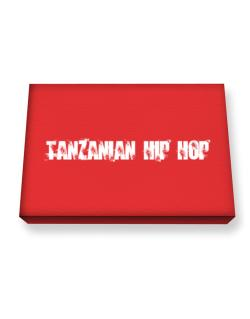 Tanzanian Hip Hop - Simple Canvas square