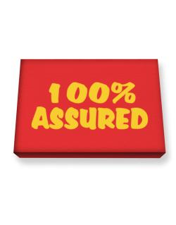 100% Assured Canvas square