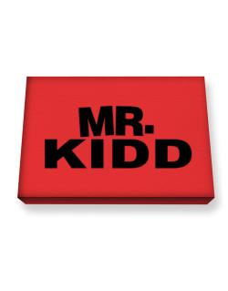 Mr. Kidd Canvas square