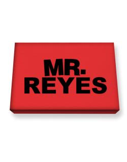 Mr. Reyes Canvas square