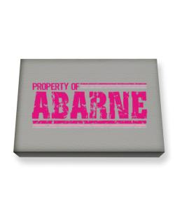Property Of Abarne - Vintage Canvas square