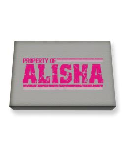 Property Of Alisha - Vintage Canvas square
