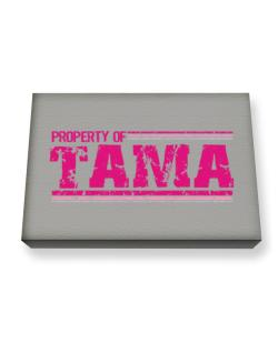Property Of Tama - Vintage Canvas square