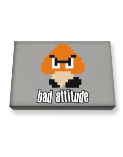 Bad Attitude Canvas square