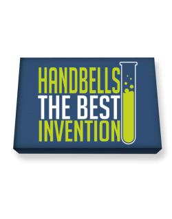 Handbells The Best Invention Canvas square