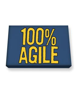 100% Agile Canvas square
