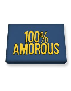 100% Amorous Canvas square
