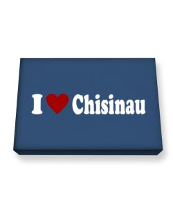 I Love Chisinau Canvas square