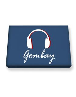 Gombay - Headphones Canvas square