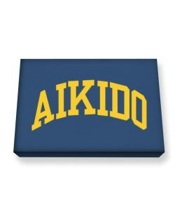 Aikido Athletic Dept Canvas square