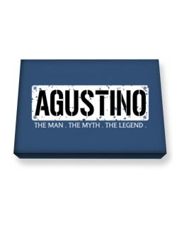 Agustino : The Man - The Myth - The Legend Canvas square