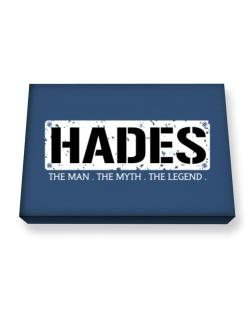 Hades : The Man - The Myth - The Legend Canvas square