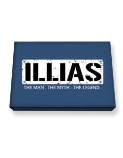 Illias : The Man - The Myth - The Legend Canvas square