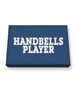 Handbells Player - Simple Canvas square