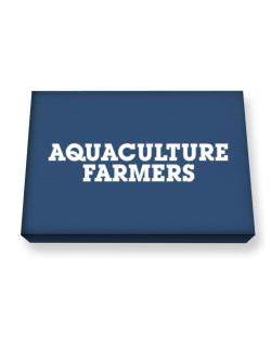Aquaculture Farmers Simple Canvas square