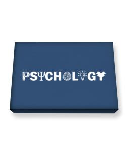 Psychology symbolism Canvas square