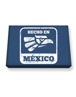 Hecho en Mexico Canvas square