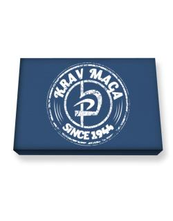 Krav maga since 1944 Canvas square