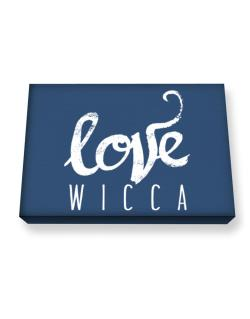 Love Wicca 2 Canvas square
