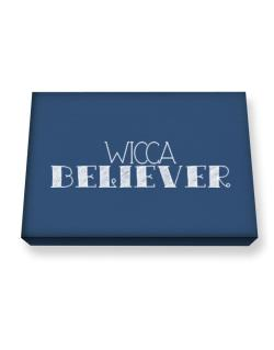 Wicca believer 2 Canvas square