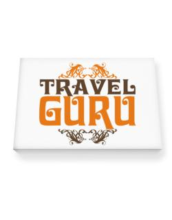Travel Guru Canvas square